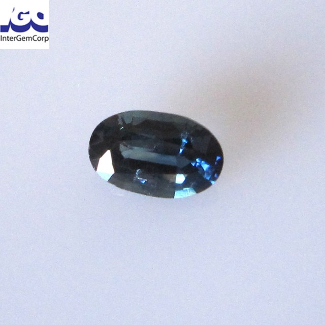 0.72cts Natural Australian Blue Sapphire Oval Cut