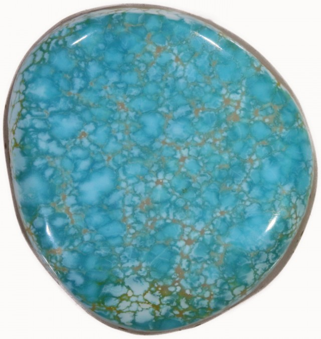 39.65 CTS TURQUOISE-8 MILE-NATURAL STONE [STS437]