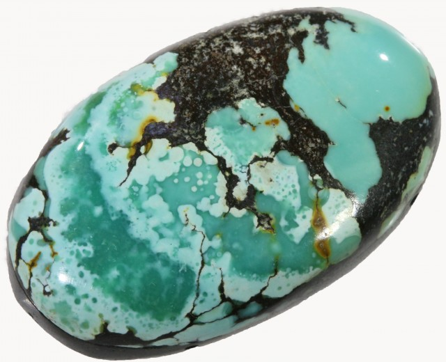 12.75 CTS TURQUOISE -HUBAY- NATURAL STONE [STS467]