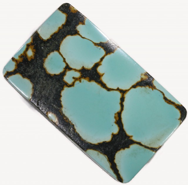 26.60 CTS TURQUOISE -CLOUD MOUNTAIN- NATURAL STONE [STS482]