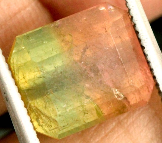 5.2 CTS WATERMELON TOURMALINE FACETED STONE natural SG-2411