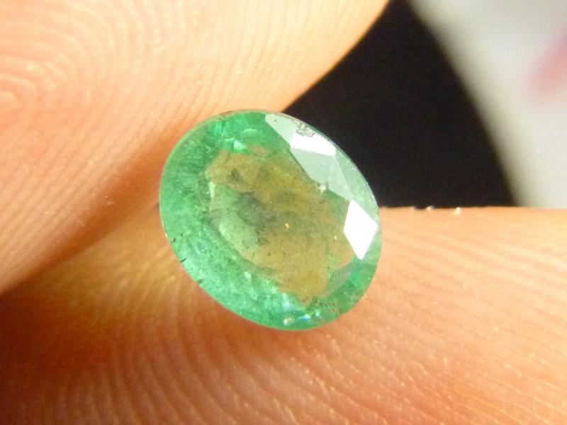 1.36cts Zambian Emerald , 100% Natural Gemstone