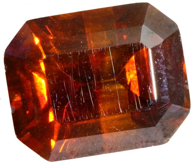 4.55 CTS FACETED FIREY  SPHALERITE  POLISHED-SPAIN [STS 558]