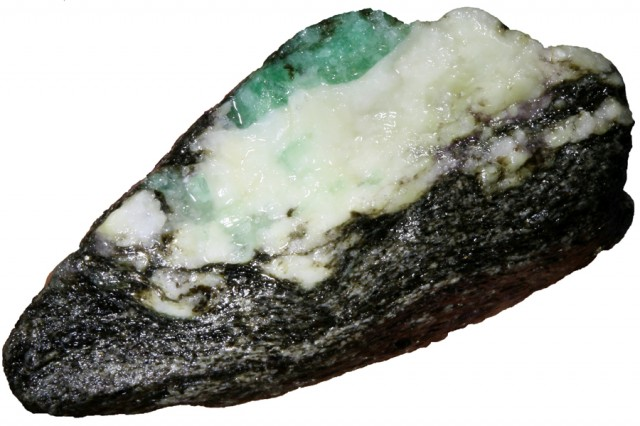 111.00 CTS Australian Curlew Mine Emerald rough Specimens PPP 1130