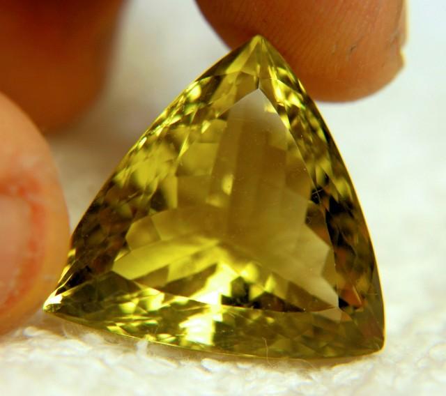 38.0 Tcw. VVS1 Brazil Lemon Quartz Trillion - Gorgeous