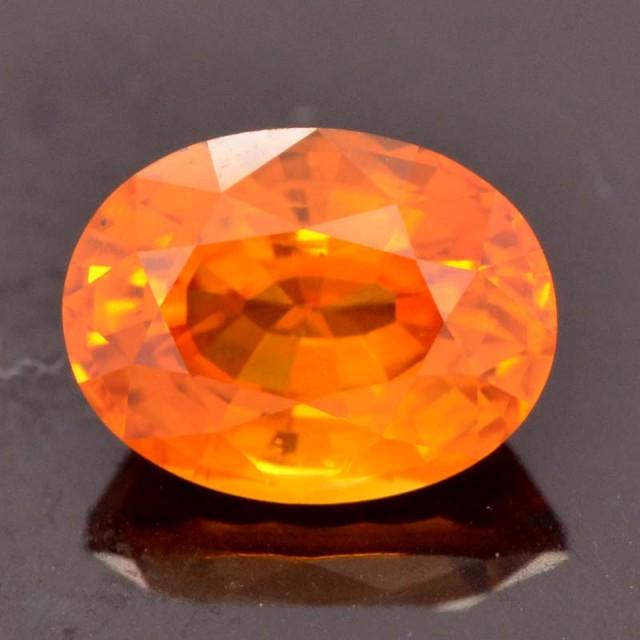 1.30cts Orange Sapphire (CDO233)