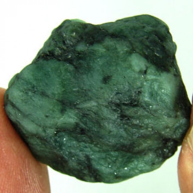 53.00 Ct Natural Green Emerald Loose Gemstone Rough Specimen