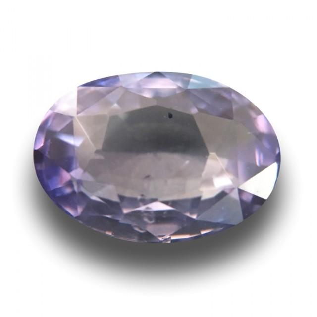 3.21 CTS | Natural Purple sapphire |Loose Gemstone|New| Sri Lanka