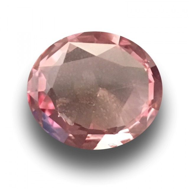 2.03 CTS | Natural Padparadscha |Certified | Loose Gemstone | Sri Lanka - N