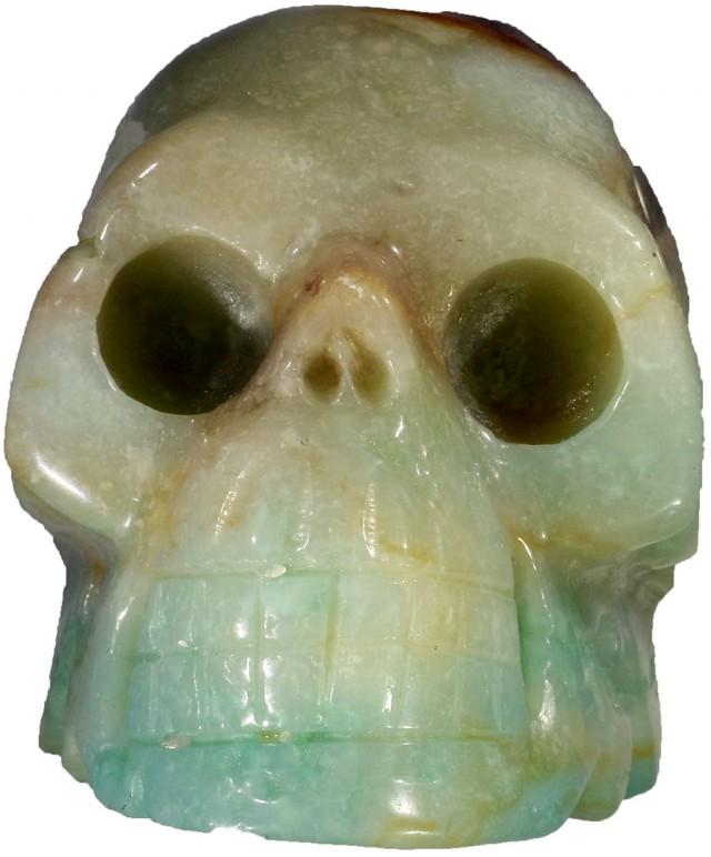 1230.00 Jasper skull PPP 1127
