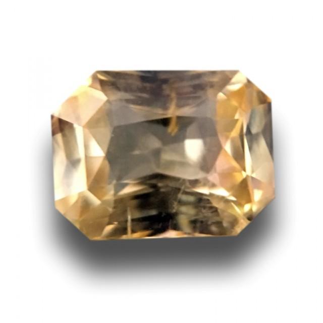 1.11 CTS | Natural Yellow sapphire |Loose Gemstone|New| Sri Lanka