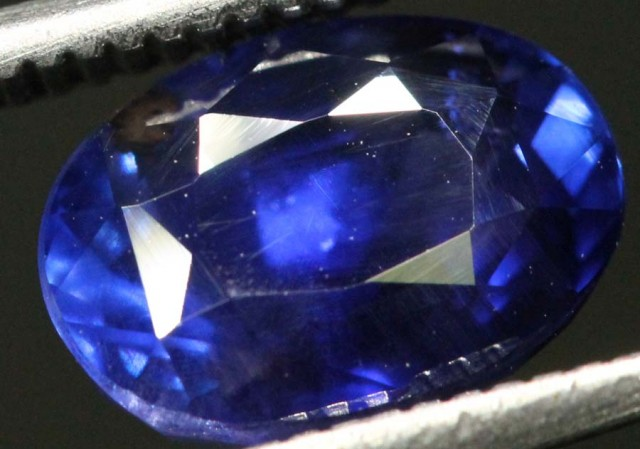 3.08CTS  UNHEATED CERTIFIED SRILANKAN SAPPHIRE FACETED  TBM-GC