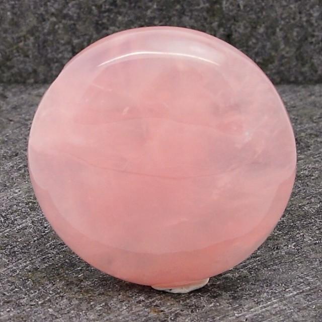 134ct NATURAL PINK ROSE QUARTZ LOVE CABOCHON STONE
