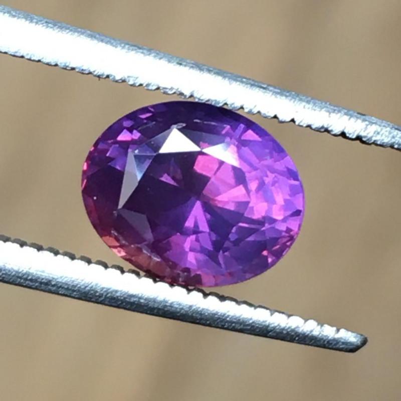2.08 CTS | Natural Pink Sapphire |Certified | Loose Gemstone | Sri Lanka -