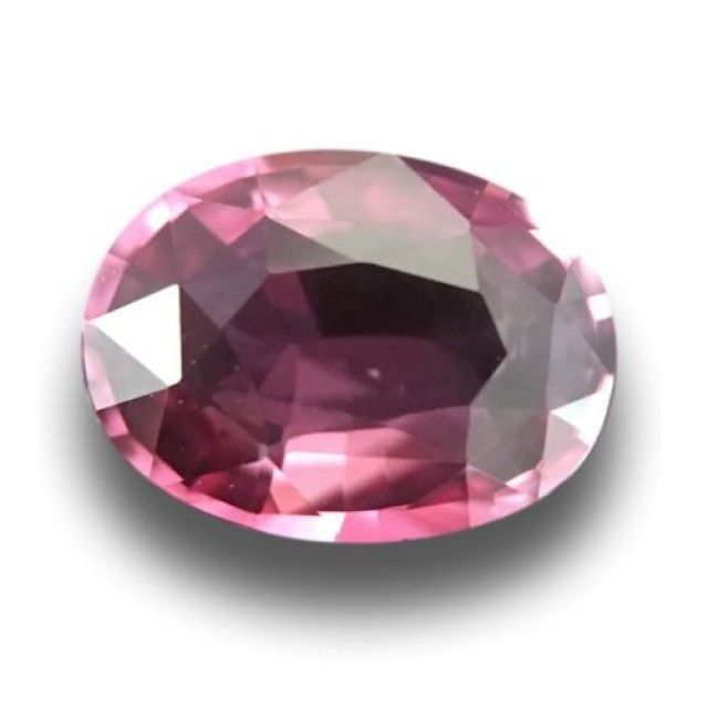 1.15 CTS Natural Pink sapphire |Loose Gemstone|New Certified| Sri Lanka