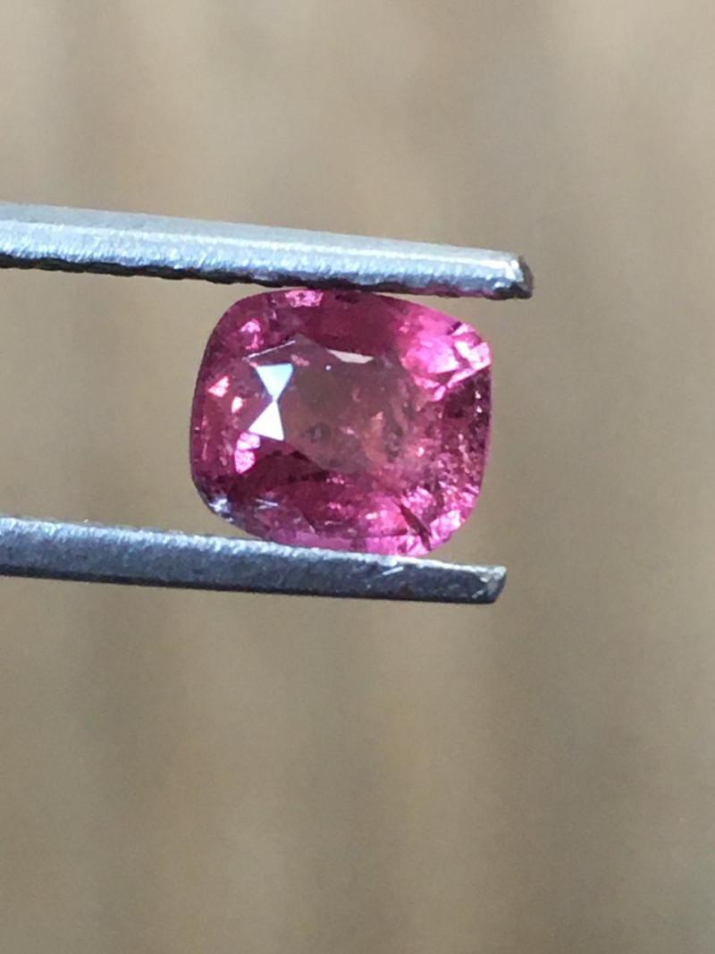 1.2 CTS | Natural Rediish Orange Pink sapphire |Loose Gemstone|New| Sri Lan