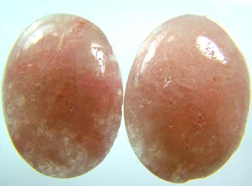 AUSTRALIAN PINK/ORANGE KUNZITE  PAIR 28.1 CTS [ S3371]