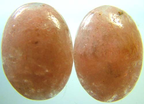 AUSTRALIAN PINK/ORANGE KUNZITE  PAIR 30 CTS [ S3377]