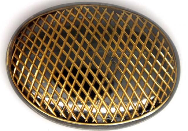 BLACK ONYX 24K GOLD ENGRAVED 135 CTS LG-957