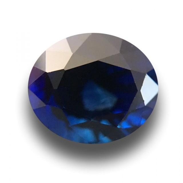 1.57 CTS Natural Deep Royal Blue Sapphire |Loose Gemstone|New| Sri Lanka