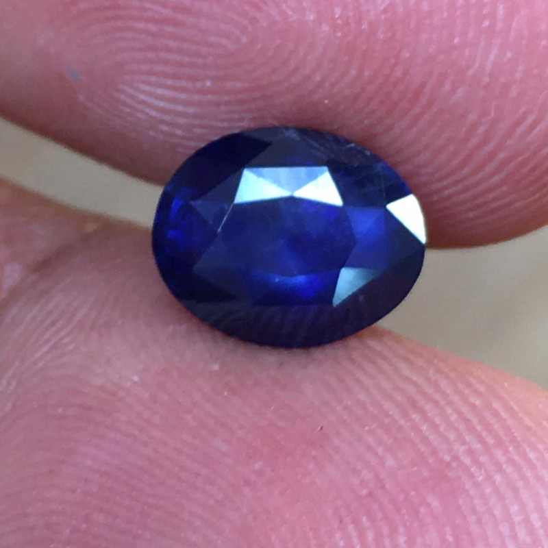 2.1 CTS | Natural Blue Sapphire |Certified | Loose Gemstone | Sri Lanka - N