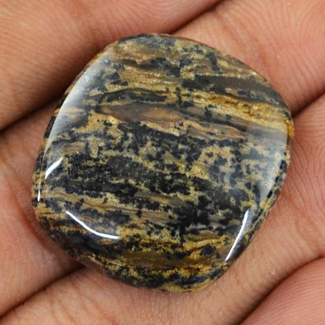 Genuine 30.25 Cts Dendrite Jasper Cab  55 - IQ3