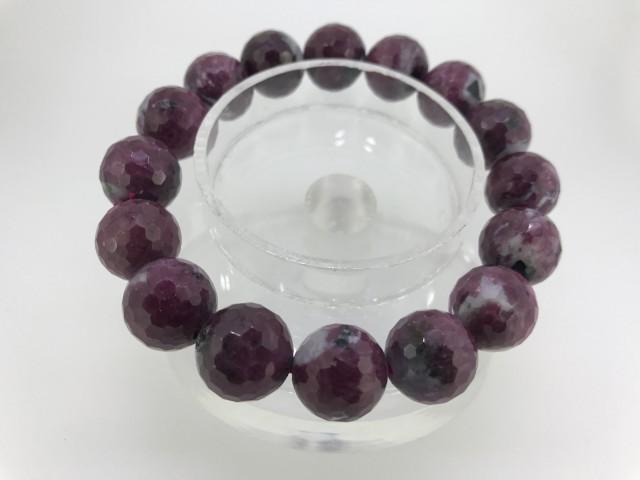 110 Crt Natural beads bracelet 8 mm