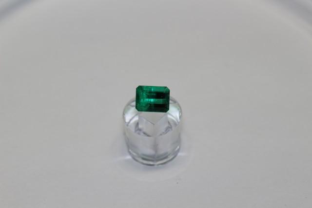 0.78 Carats Vivid Green AFGHAN (Panjshir) Emerald!