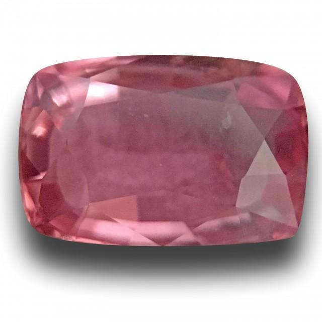 1.35 CTS Natural Pink sapphire |Loose Gemstone|New Certified| Sri Lanka