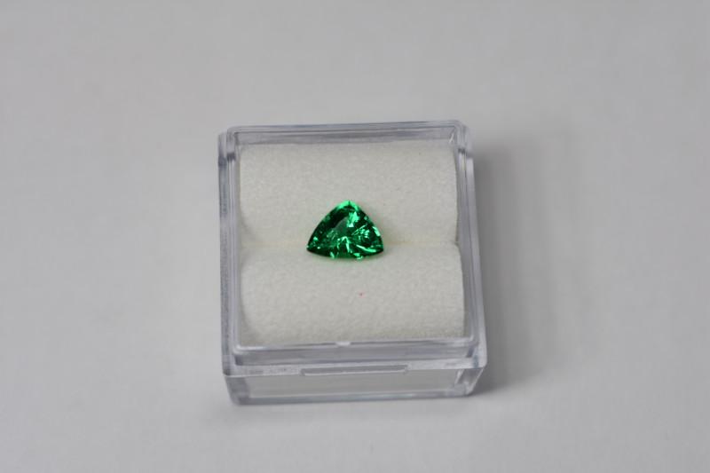0.72 Carats Vivid Green AFGHAN (Panjshir) Emerald!