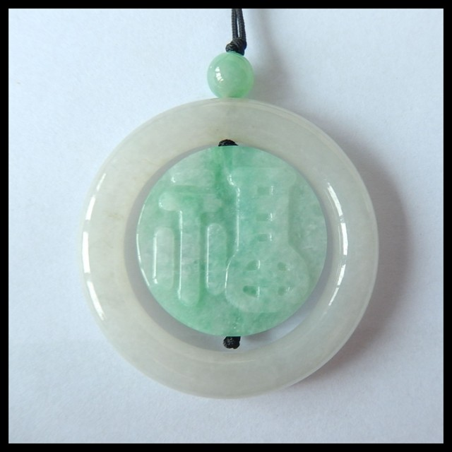 Natural Jade Carving Necklace Beads,44x7mm,7x7mm,119ct(17041107)
