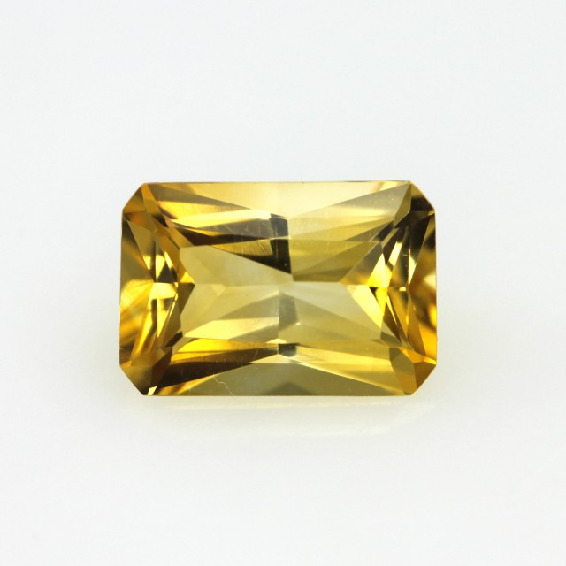 2.58cts Golden Yellow Citrine Radiant Cut