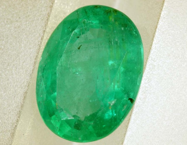 2.56CTS EMERALD FACETED GREEN STONE PG-2055