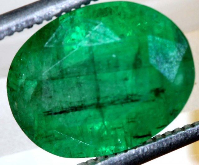 5.2 CTS  AFGHANISTAN EMERALD FACETED  TBM-1052