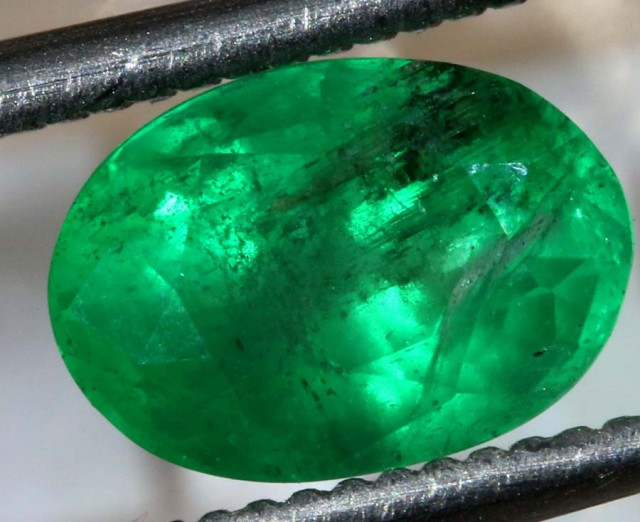 1.4 CTS  AFGHANISTAN EMERALD  FACETED  TBM-1054