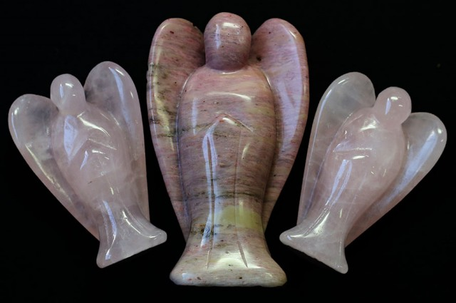 Three beautiful gemstone  holistic angels PPP1190