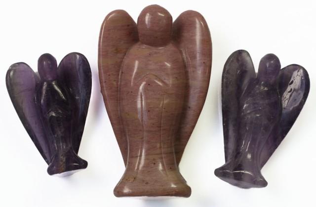 Three beautiful gemstone  holistic angels PPP1189