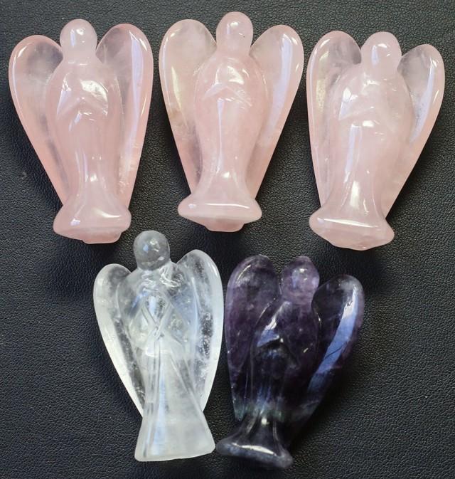 Five beautiful gemstone  holistic angels PPP1200