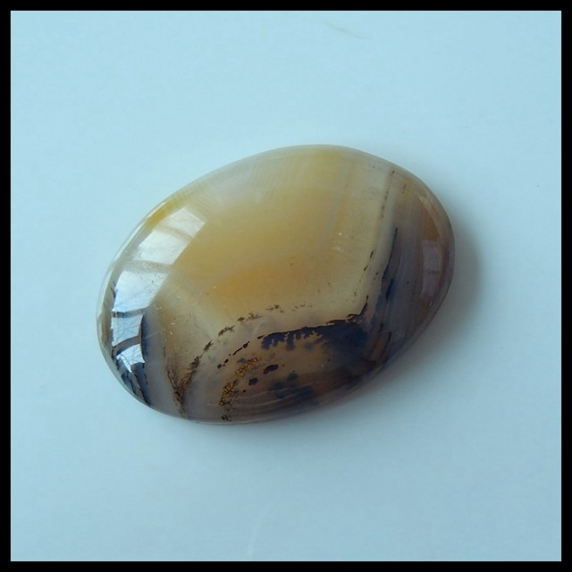 Natural Rare East Maganese Agate Oval Cabochon,38x28x8mm,71ct(17041913)
