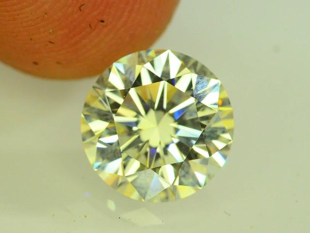 2.10 ct Natural Yellow Diamond Round Brilliant Cut