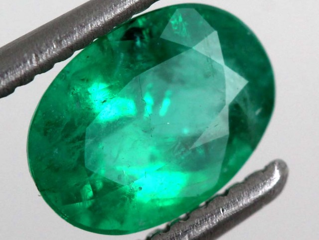 0.27CTS CERTIFIED  BRAZIL EMERALD FACETED  TBM-1094