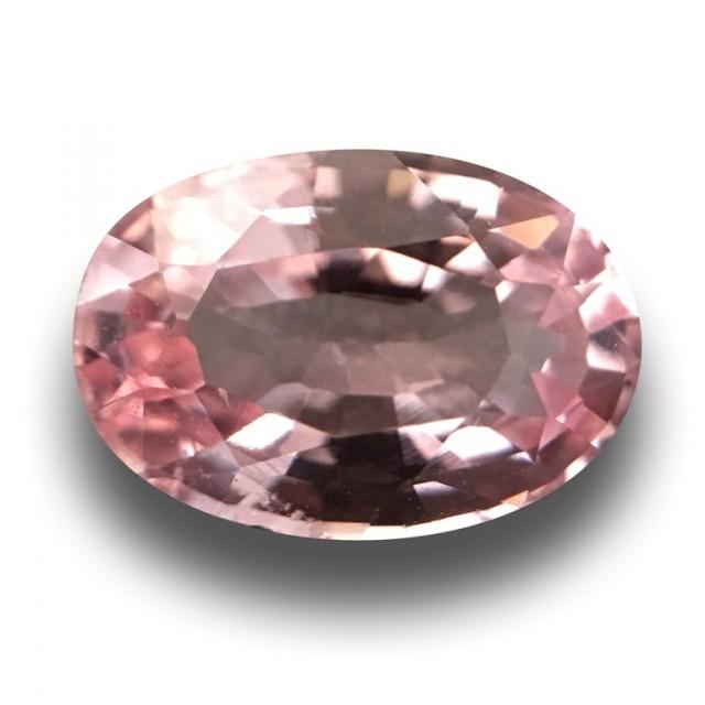 1.49 Carats |  Natural Unheated Pink Orange Sapphire| Loose Gemstone | Sri
