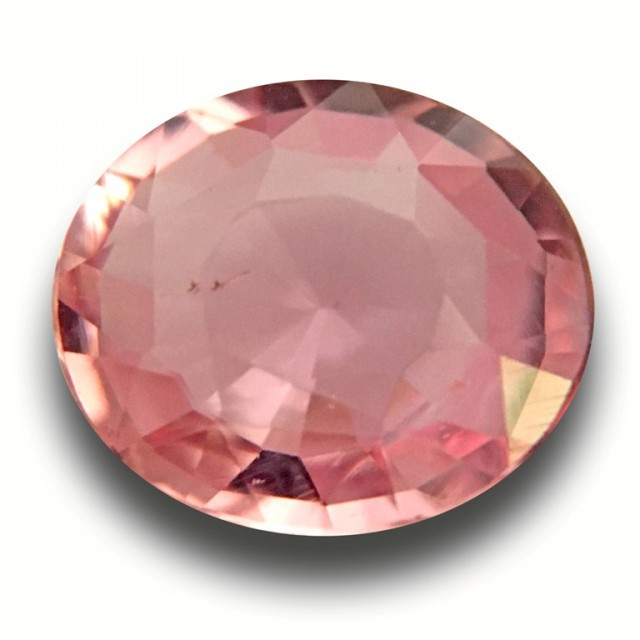 1.69 CTS|Natural Unheated Pink Orange Sapphire|Loose Gemstone|Sri Lanka - N