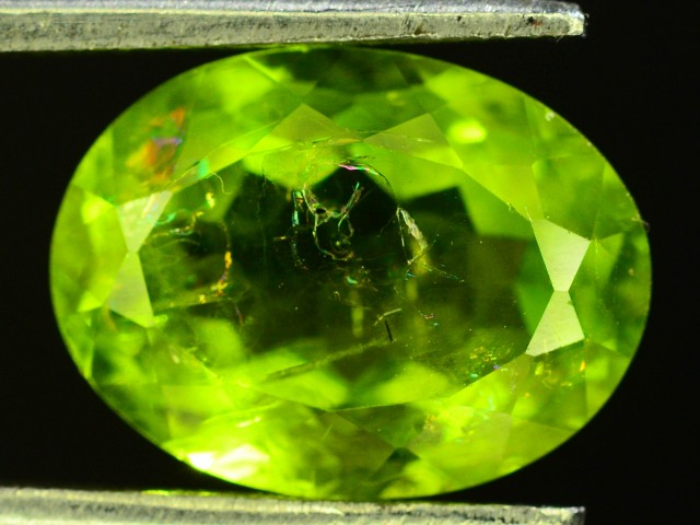 4.30 Ct Untreated Green Peridot