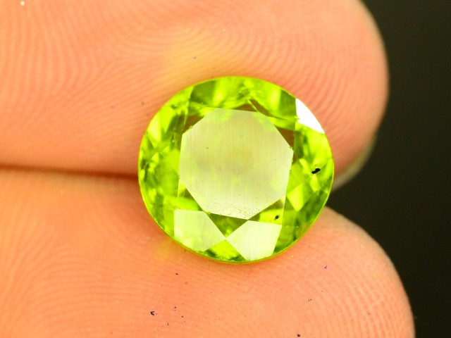 2.35 Ct Untreated Green Peridot