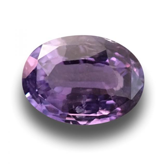 1.59 CTS | Natural Purple sapphire |Loose Gemstone|New| Sri Lanka