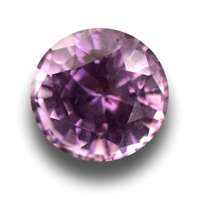 1.36 Carats Natural Purple Sapphire Loose Gemstone Sri Lanka - New