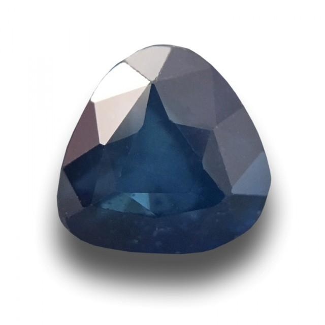 1.11 CTS Natural Blue sapphire  Loose Gemstone New Certified  Sri Lanka