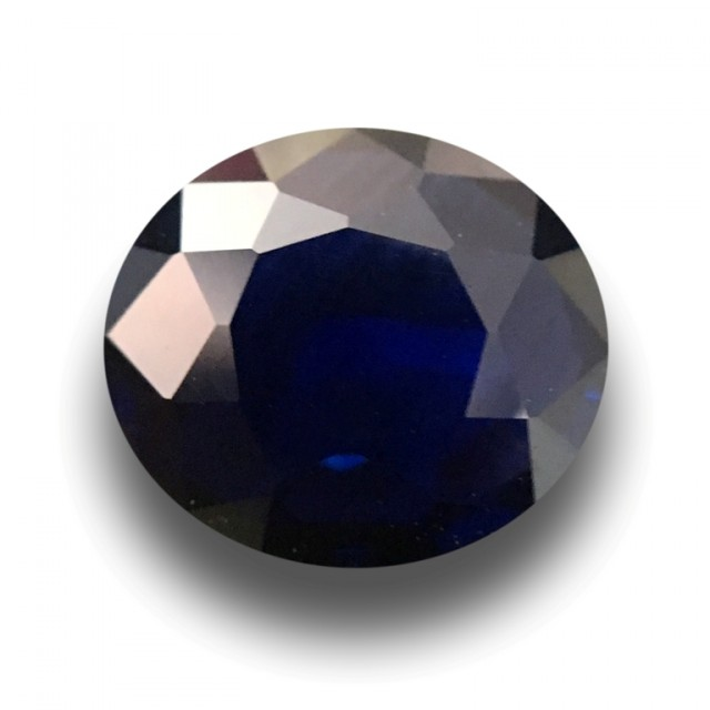 1.17 CTS Natural Blue Sapphire |Loose Gemstone|New Certified| Sri Lanka