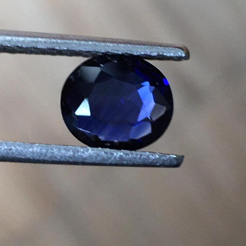 1.17 CTS Natural Blue Sapphire  Loose Gemstone New Certified  Sri Lanka